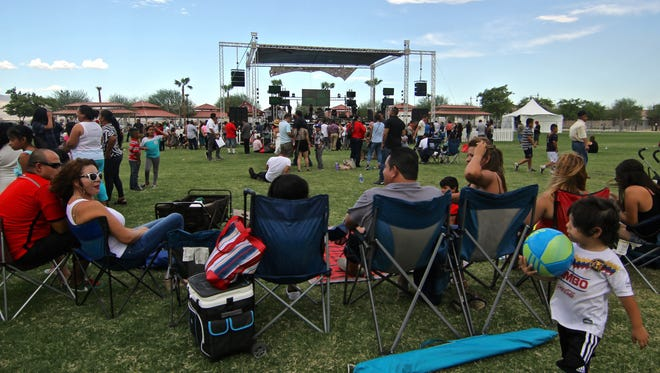 FILE - One of Southern California's largest ElGrito/Fiestas Patrias celebrations will take place Sunday at Coachella's Rancho Las Flores Park.