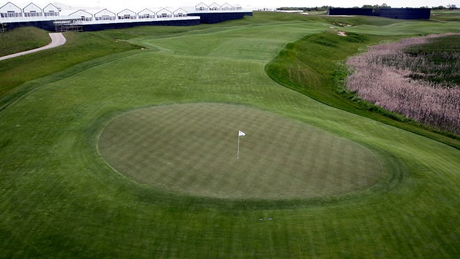 Hole No. 1 and the rest of Erin Hills are ready to go for the U.S. Open.