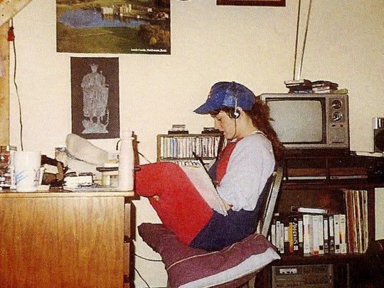 In the mid 1980s, Sherrilyn Kenyon, 21, writes in her