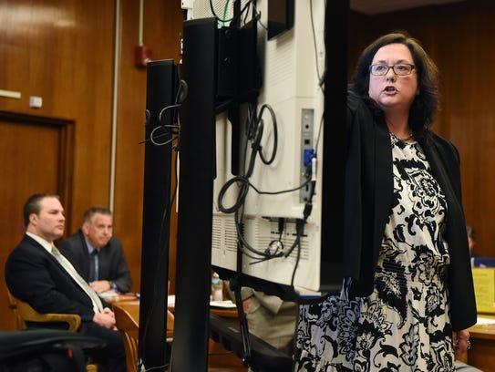 Assistant Bergen County Prosecutor Danielle Grootenboer