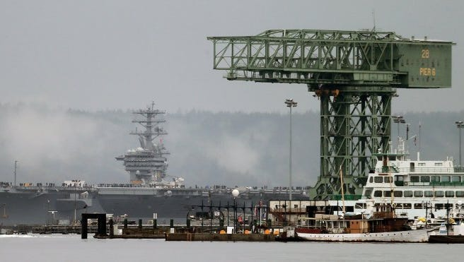 The federal government has added 2,700 jobs in Kitsap since 2012.