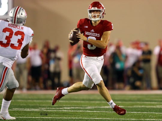 Peyton Ramsey's legs give the Hoosiers an added dimension at quarterback.