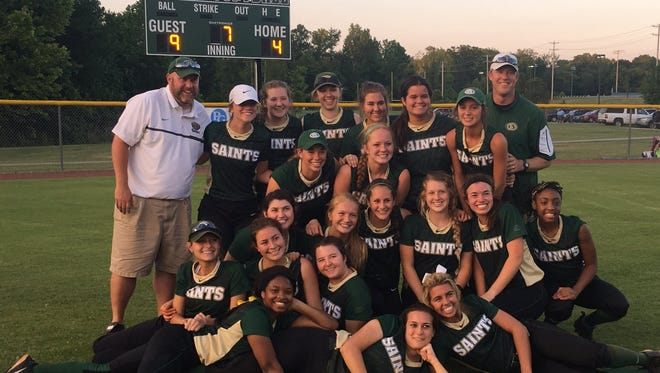The Briarcrest softball team is headed to Spring Fling after defeating Brentwood Academy, 9-4, Thursday.