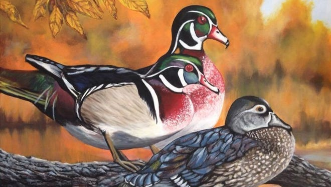 Self-taught Aurora artist Melody McKinley finds that painting helps her deal with her agoraphobia.
