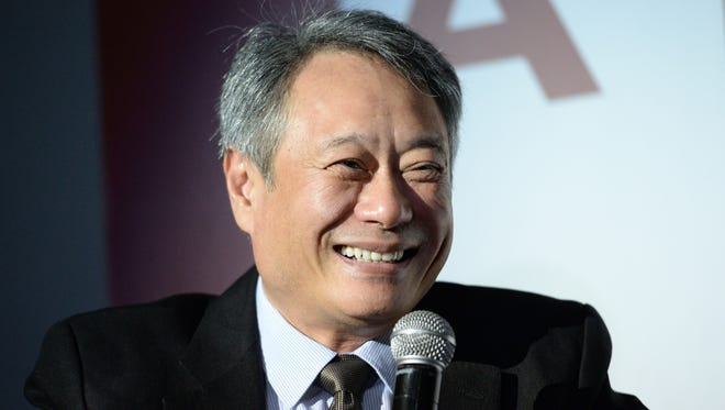 Taiwanese-born and Oscar-winning film director Ang Lee speaks at an open forum during a screening for his film 'The Life of Pi' at a shopping mall in Manila on Nov. 28, 2013. Lee is on a one-day visit at the invitation of the Taipei Economic and Cultural Office (TECO) in the Philippines.