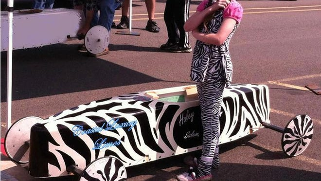 Haley Lawhorn qualified for the All-American Soap Box Derby World Championship in Akron, Ohio. Photo submitted July 2013.