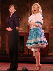 Kyra Kennedy as Louise, left, and Julia Hemp as June