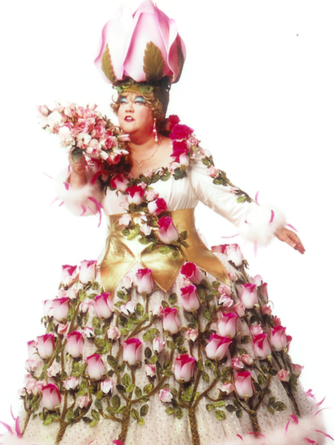 """Kathy Kinney as Mimi, the character she played on """"The"""