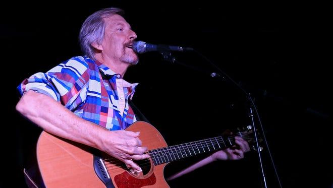 David Jorgensen performs a set of Cat Stevens songs Friday at The Granary in Santa Clara.
