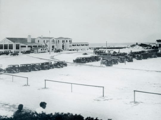 The Casino (a community recreation complex that featured a dance pavilion, bath houses, shops and a restaurant on Santa Rosa Island) stood from 1931-1972 near what is now called Casino Beach.