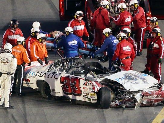 Justin Fontaine Fractures Back In Arca Crash At Daytona