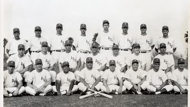 Luis Lagunas, All-America on ASU's 1965 College World Series championship team, died Monday at age 71.