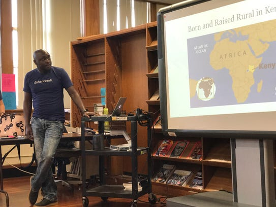 Tech entrepreneur Peter Rotich talks to Bolton High