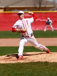 Fishers pitcher Luke Duermit leads a staff that has