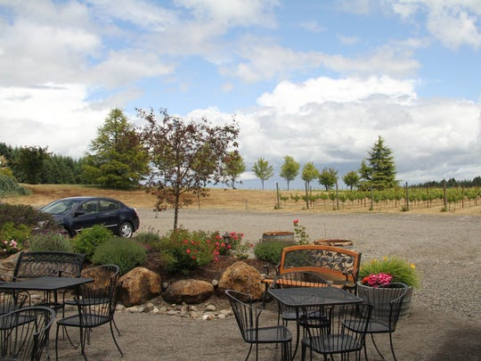 Sip some wine outside at Cubanisimo Vineyards.