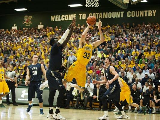 America East Semi Final - New Hampshire vs. Vermont Men's Basketball 03/07/16