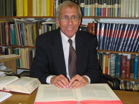Dr. Shalom Paul, professor emeritus at Hebrew University