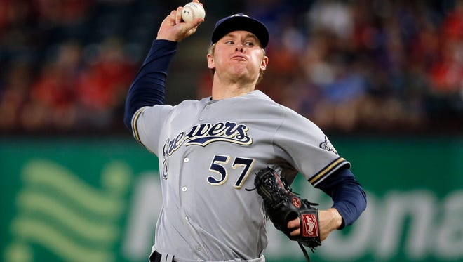 Chase Anderson lost his arbitration heraring on Tuesday.
