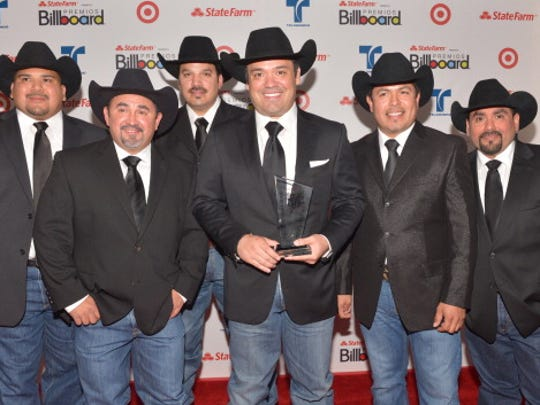 MIAMI, FL - APRIL 26: Intocable pose backstage during Billboard Latin Music Awards 2012 at Bank United Center on April 26, 2012 in Miami, Florida. (Photo by Rodrigo Varela/Getty Images)