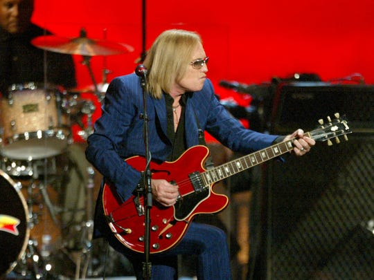 Tom Petty performs onstage at The 2003 Radio Music