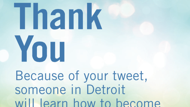 Credit Karma is teaming up with Operation HOPE in Detroit to promote financial literacy.