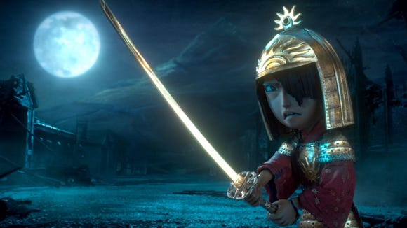 """Kubo, voiced by Art Parkinson, stars in """"Kubo and the Two Strings."""""""