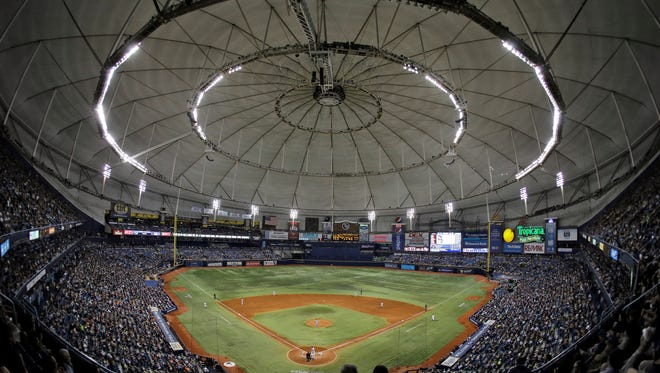 Tropicana Field officials vow to make the food at the stadium safer after a report by Sports Illustrated ranked it last in that category.