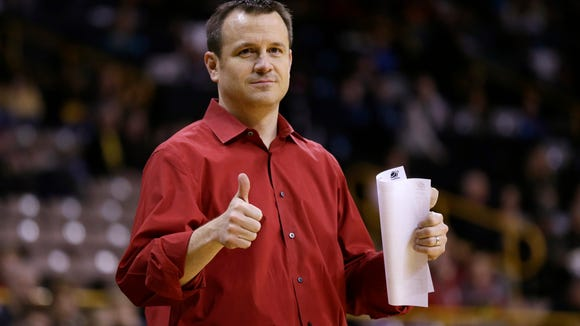 Louisville women's basketball coach Jeff Walz