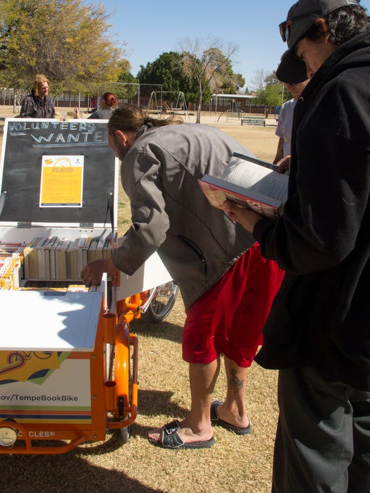 LSTA grants Tempe's book bike