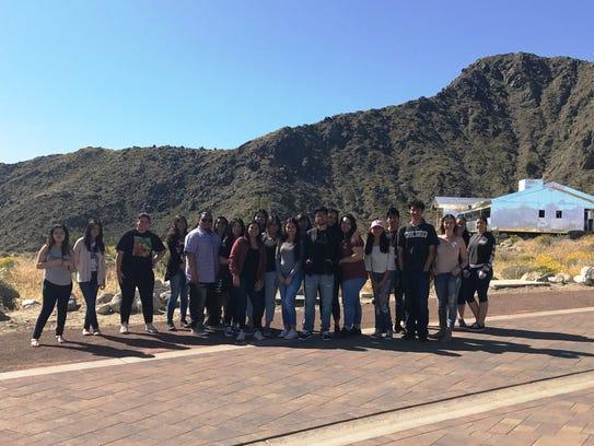 Art Students Tour Desert X