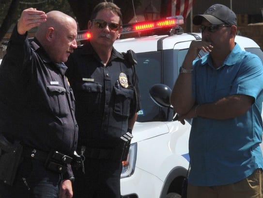 Wichita Falls police and several area agencies coordinate
