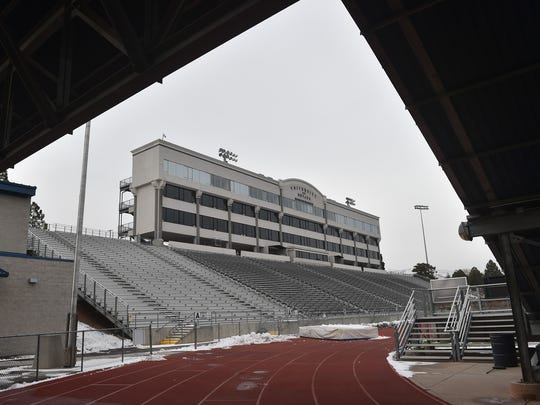 Mackay Stadium's $11.5 million renovation, which will largely impact the stadium's west side, is underway.