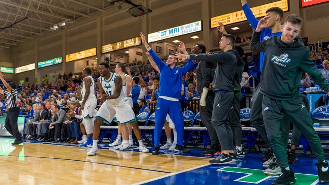 After winning four straight since their loss at Middle Tennessee, FGCU's Eagles feel they're ready to pay back the Blue Raiders in Alico Arena on Saturday night.