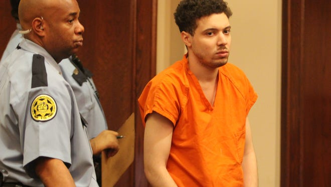 Joshua Black, right, was sentenced to life in prison Monday in the 2014 murder of Nancy Lowry.