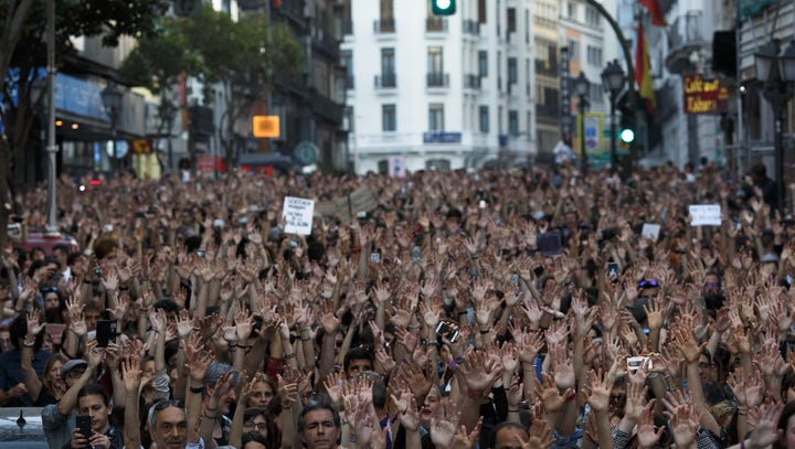 In Spain, sexual assault legislation says 'yes means yes'