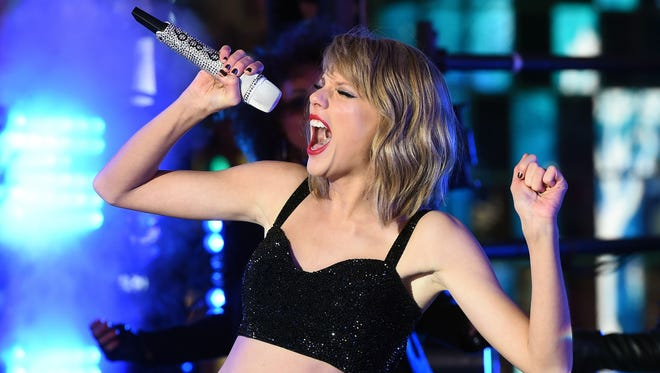 Jewel Samad, AFP/Getty Images US singer Taylor Swift performs during New Years Eve celebrations at the Times Square in New York on December 2014. AFP PHOTO/JEWEL SAMADJEWEL SAMAD/AFP/Getty Images ORG XMIT: 530599291 ORIG FILE ID: 536435025