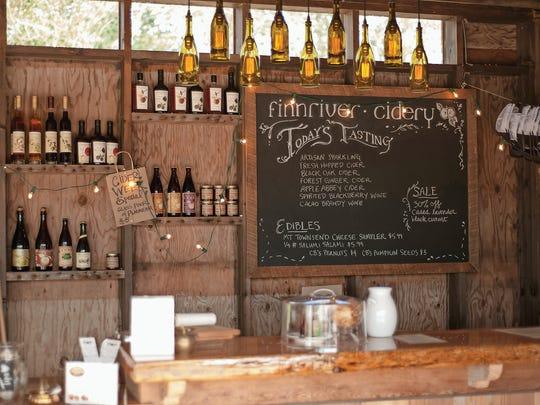 Finnriver Farm and Cidery has an organic apple  orchard