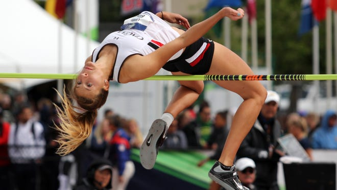 University of Cincinnati junior Loretta Blaut (Seton HS) earned first team All-America high jump honors for the second straight year this past weekend, at the NCAA Outdoor  Championships in Eugene, Oregon.
