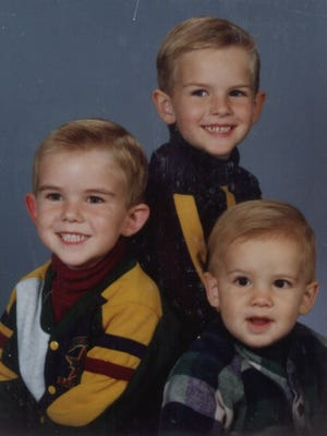 Nicholas, Ryan and Zachary Burt. Nicholas and Zachary died of carbon monoxide poisoning Jan. 5, 1996 in their Kimball home.