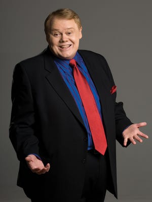 Louie Anderson comes to town this weekend.