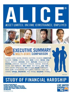The United Way of Florida released its 2017 ALICE report, which offers a multi-state comparison of financial hardship for struggling families living above the federal poverty level
