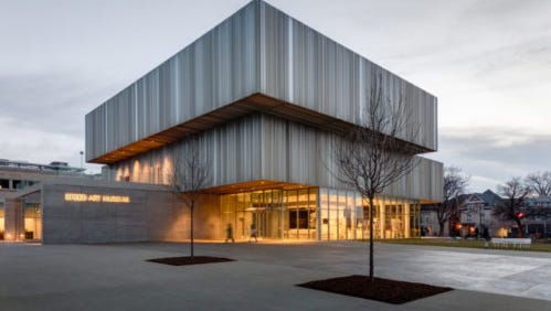 The Speed Art Museum in Louisville re-opened its doors last month after a  $50-million renovation and expansion.