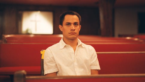 """Gael Garcia Bernal stars in """"The King"""" (2005) which tells the story of a troubled man, recently discharged from the Navy, who goes to Corpus Christi in search of the father he's never met. The film was shot in Austin and Corpus Christi."""