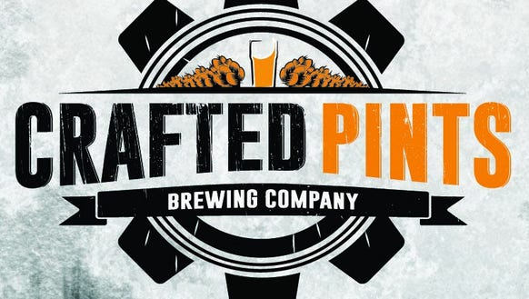 crafted pints logo