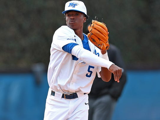 """""""It was just a surreal moment,"""" MTSU shortstop L.A. Woodard said of seeing his name pop up on his computer screen as a Mets draftee.""""It's a dream come true."""""""