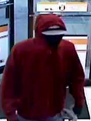 Lafayette police released a photo of the man suspected of robbing the Circle K gas station about 5:10 a.m. Saturday at Earl Avenue and Ferry Street.