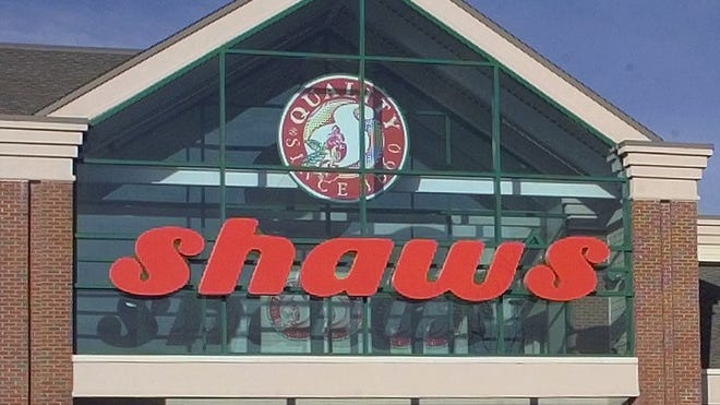 A file photo of Shaw's in Colchester.
