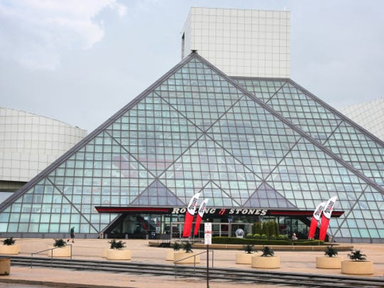 The Rock & Roll Hall of Fame in Cleveland.
