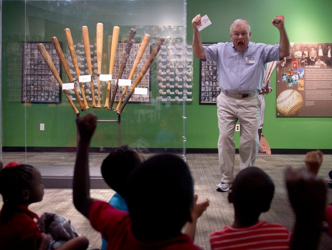 Frank Spera, docent of the Baseball Gallery at The