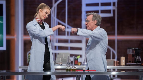 Bill Nye (you know, the science guy) hosts a talk show